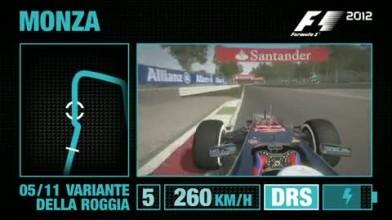 "F1 2012 ""Геймплей Монца"""