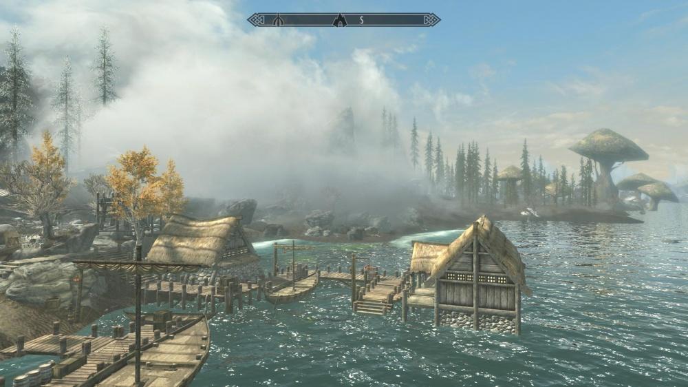 Для Skyrim вышел масштабный мод, вдохновленный островами Скеллиге из The Witcher 3