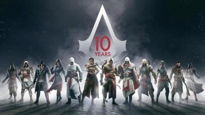 Ubisoft опубликовала статью о 10-летии серии Assassin's Creed