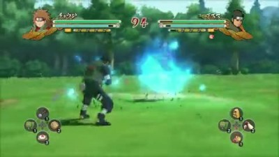 "Naruto Shippuden Ultimate Ninja Storm 3 ""X360  PS3 - Great ninja War Choji VS Asuma (Reanimation)"""