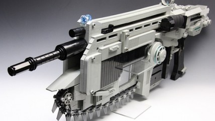 LEGO Lancer из Gears of War