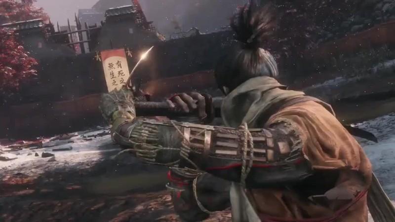 Sekiro: Shadow Die Twice - представление босса генерала Тензена Ямаути из клана Ашина