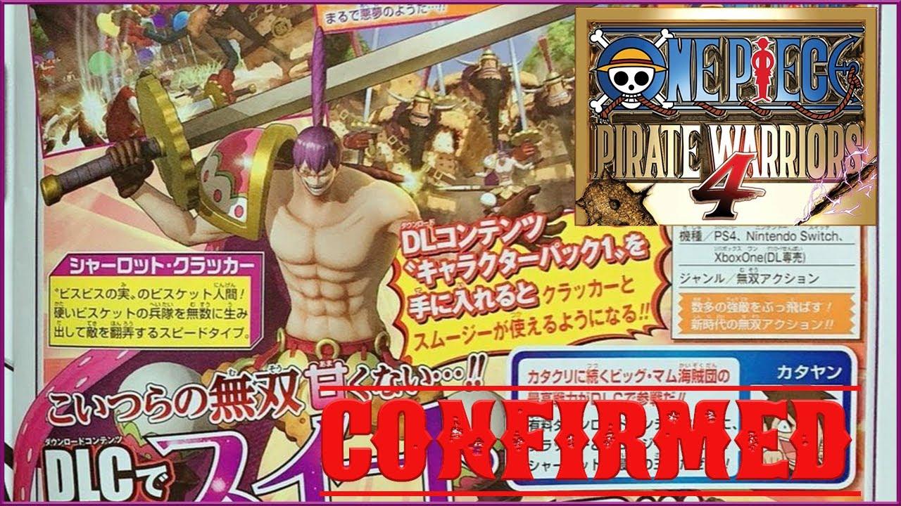 Анонсирован DLC-персонаж Шарлотта Крекер для One Piece: Pirate Warriors 4