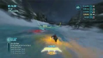 "SSX ""Demo Tips & Tricks Trailer"""