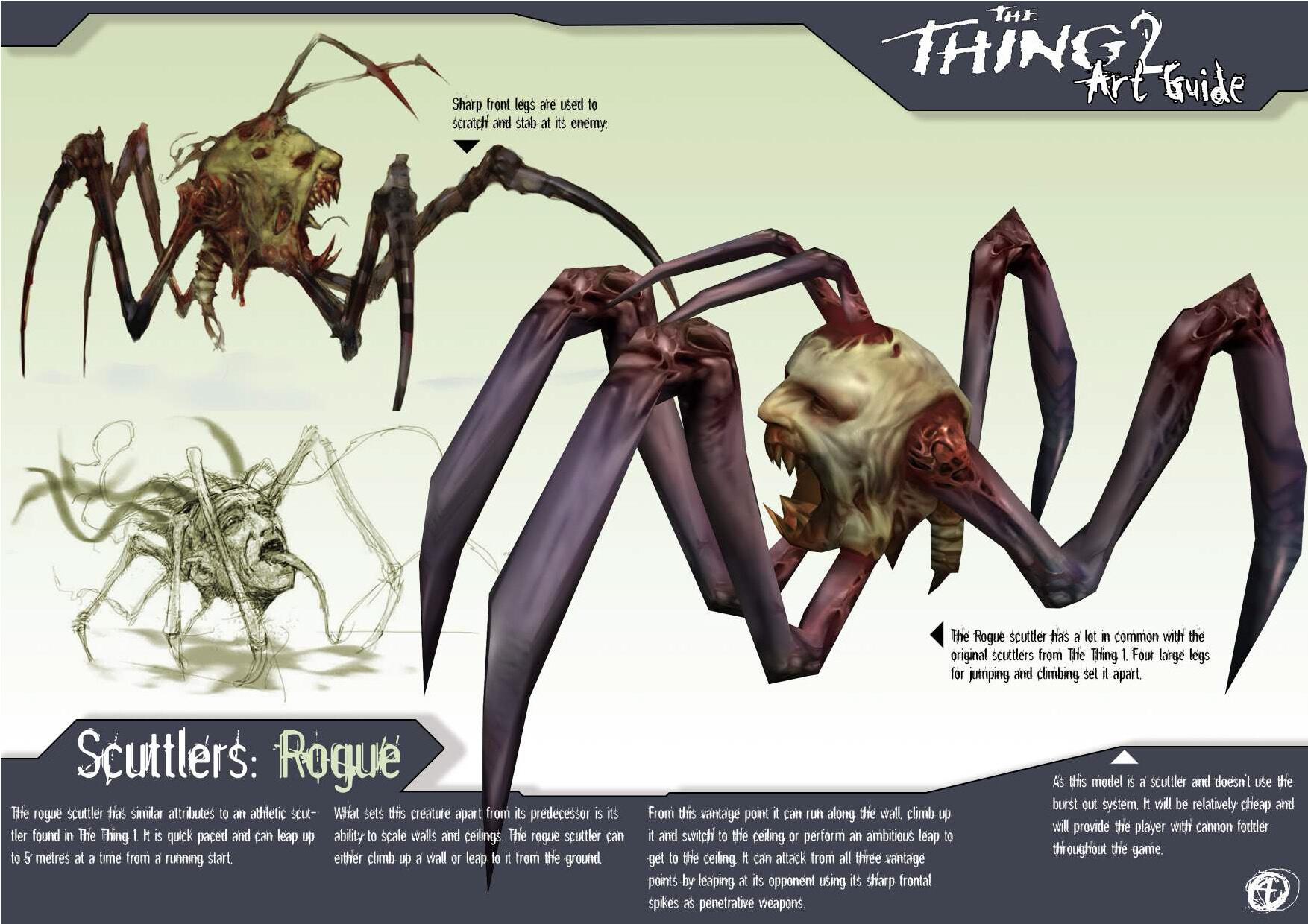 Жуткие концепт-арты отмененного сиквела видеоигры The Thing