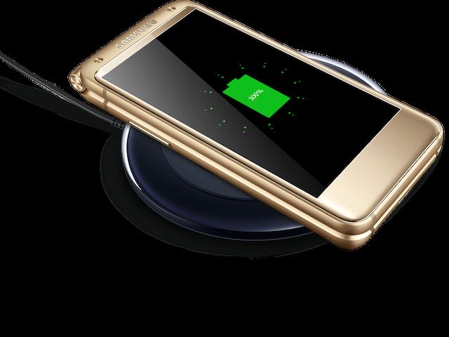 Самсунг  представила премиальный смартфон W2017 вформ-факторе раскладушки