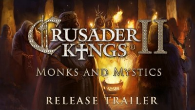 Состоялся релиз Crusader Kings II: Monks and Mystics