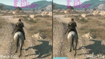 Тест FPS в Metal Gear Solid 5: The Phantom Pain - Патч 1.02 vs 1.04