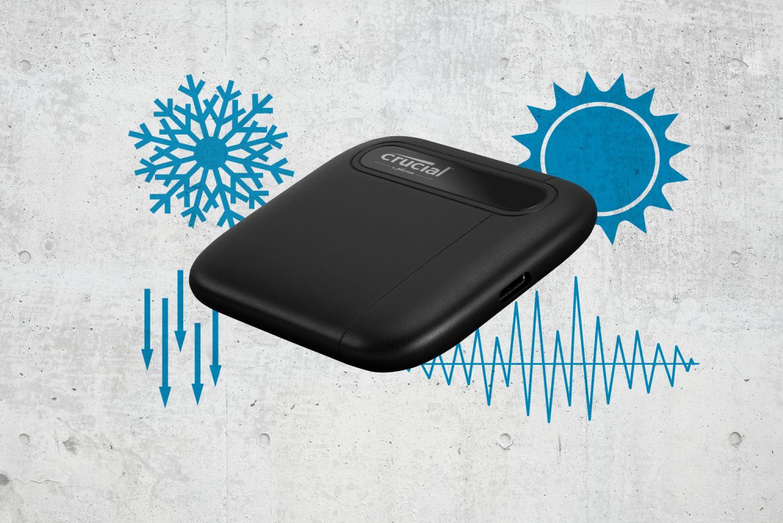 Портативный SSD Crucial X6 предложен объемом 1 и 2 ТБ