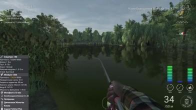 Как ловить Большеротого Басса Fishing Planet (блесна) | Фишинг Пленет Большеротый Басс