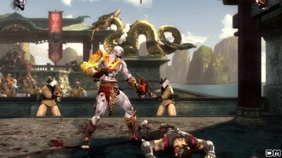 Mortal Kombat IX Kratos Performs All Character Victory Celebrations