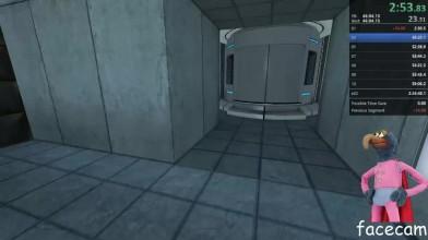 Спидраннер прошел Portal меньше чем за час, не используя порталы!