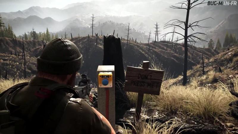 Интересная пасхалка с кнопкой в Ghost Recon: Wildlands