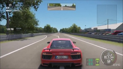 Project CARS 2 - Audi R8 V10 plus 5.2 FSi quattro 2015 -Тест-драйв Геймплей (HD)