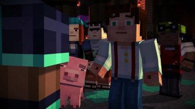 Minecraft: Story Mode Retail & Episode 2 - Assembly Required Launch Trailer (Русская озвучка)