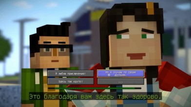 Minecraft: Story Mode 2 - г*вно?| Обзор Minecraft: Story Mode - Season 2