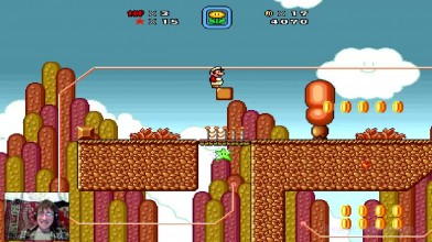 Super Mario Bros. X (v. 1.3) - 6 уровень - Адские стеночки (прохождение на русском)