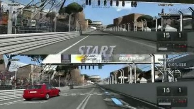 "Gran Turismo 5 ""Split-Screen Multiplayer Gameplay"""