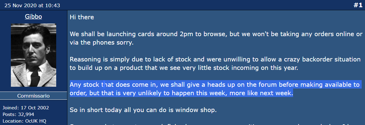Radeon RX 6800 не просто в дефиците - их вообще нет в продаже. Ситуациях еще хуже, чем с GeForce RTX 3080 и RTX 3090