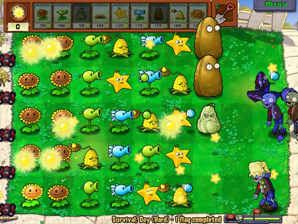 plants zombies играть без автомата а самому
