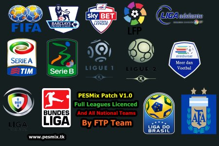 PESMix Patch 2015 1.0 Полное Бундеслига