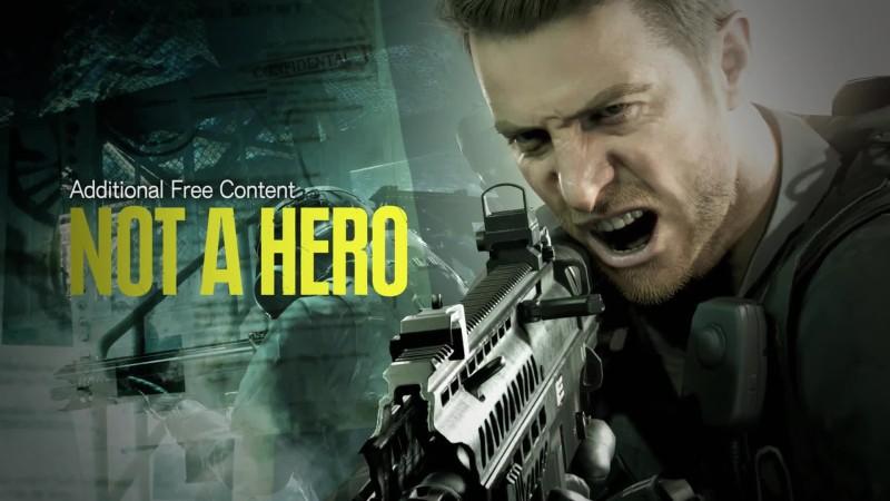 Геймплейный трейлер дополнения Not a Hero для Resident Evil 7