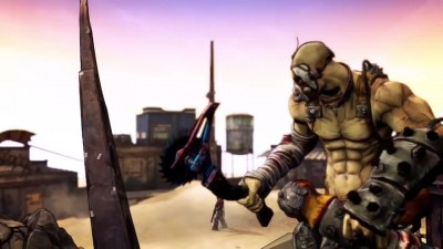 "Borderlands 2 ""Русский трейлер: Krieg: A Meat Bicycle Built for Two"""
