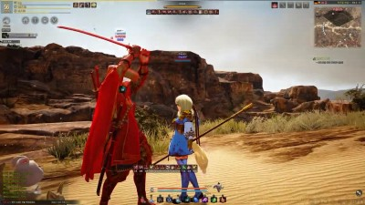 Black Desert Online Ninja Awakening Steparu the Test Dummy