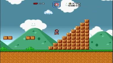 Возвращение в 80-Е!Super Mario Bros X.