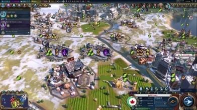 Civilization VI: Gathering Storm - Канада. Первый взгляд на русском