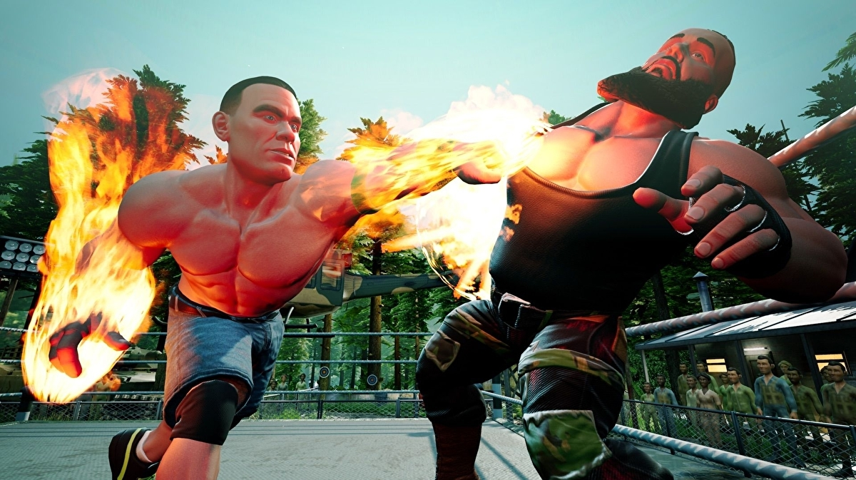 Объявлена дата выхода WWE 2K Battlegrounds