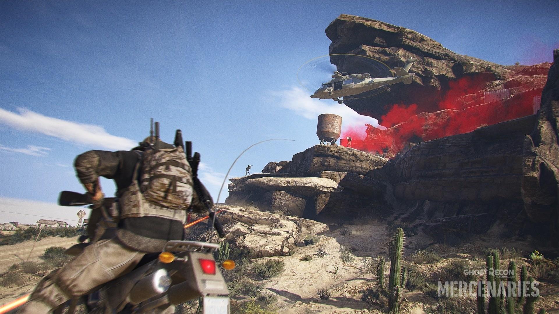 Все подробности обновления Mercenaries для Tom Clancy's Ghost Recon Wildlands