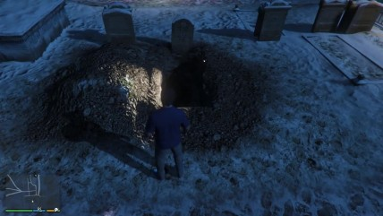 Существуют ли призрак на могиле Брэда! (GTA 0)