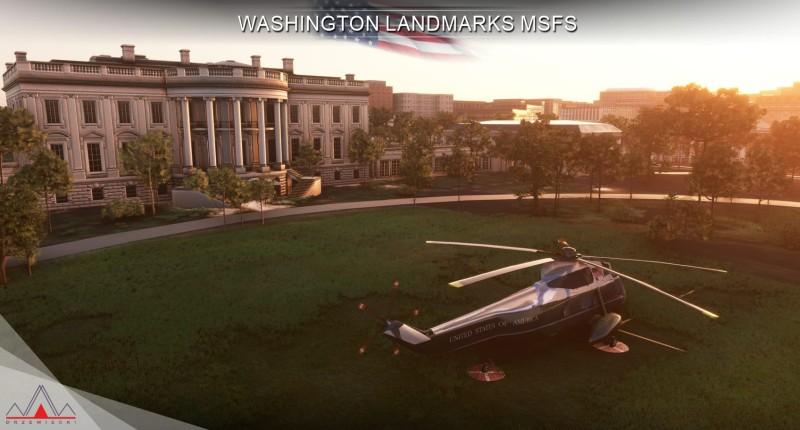 Microsoft Flight Simulator получила дополнение с достопримечательностями Вашингтона