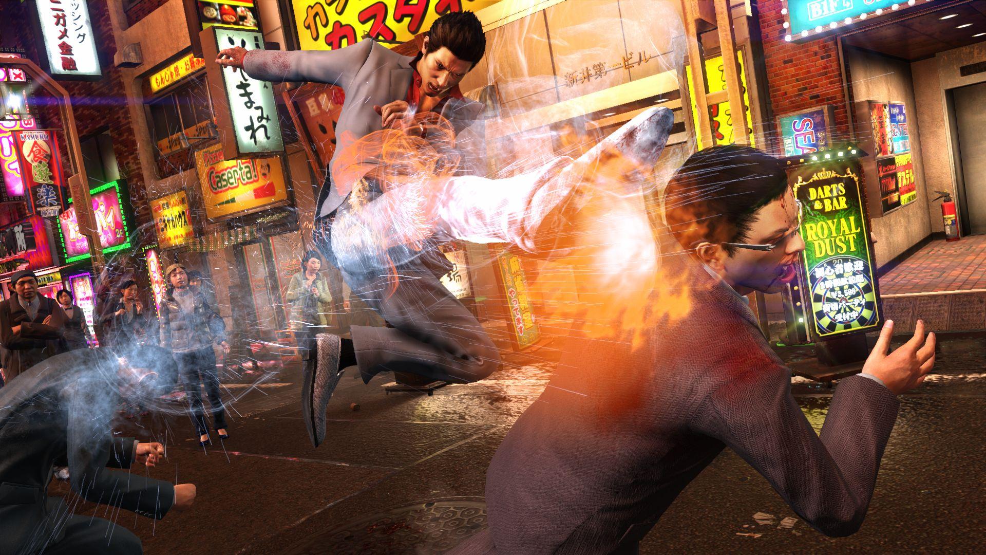 Интересная ситуация возникла с костюмами в Yakuza Kiwami 2 на PC