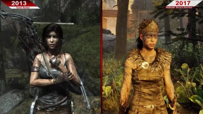 Сравнение | Tomb Raider (2013) vs. Hellblade: Senua's Sacrifice (2017) | PC | ULTRA