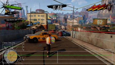 "Sunset Overdrive ""Тест частоты кадров Xbox One"""