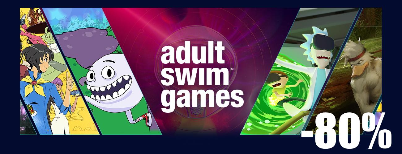 В Steam стартовали скидки на игры издателя Adult Swim Games