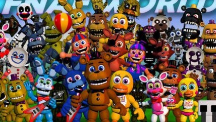 Five Nights At Freddy's World уже доступна в Steam