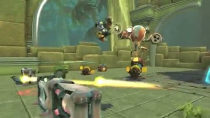 "Ratchet & Clank: Full Frontal Assault ""Релизный трейлер"""