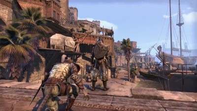 "The Elder Scrolls Online: Tamriel Unlimited ""Тизер Thieves Guild DLC"""