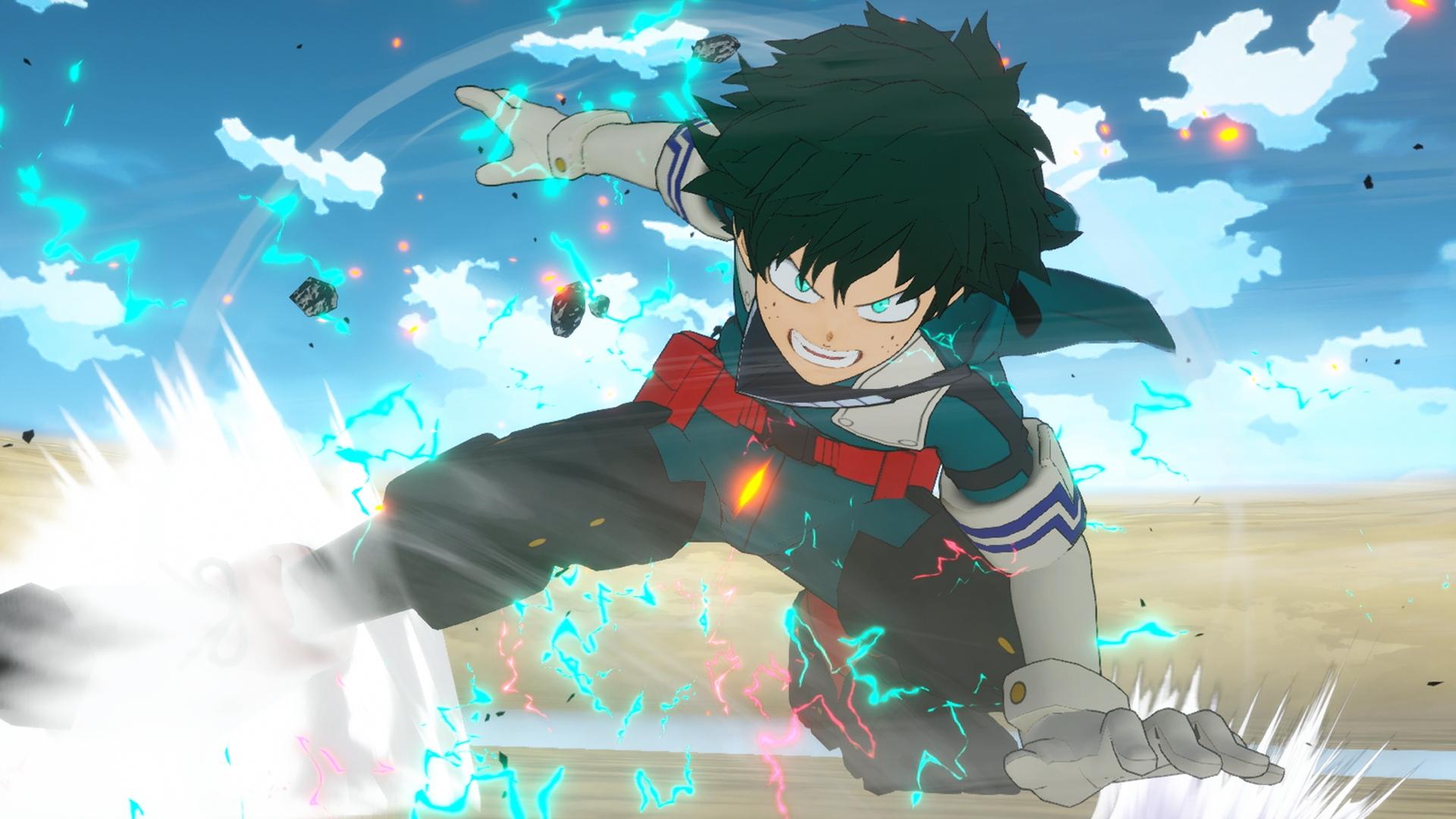 Третий трейлер My Hero One's Justice 2