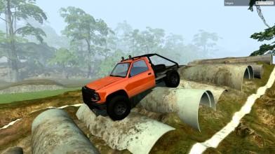 Новый Тест на Проходимость! - BeamNG.drive