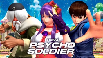 "The King of Fighters XIV: команда ""Team Psycho Soldier"""