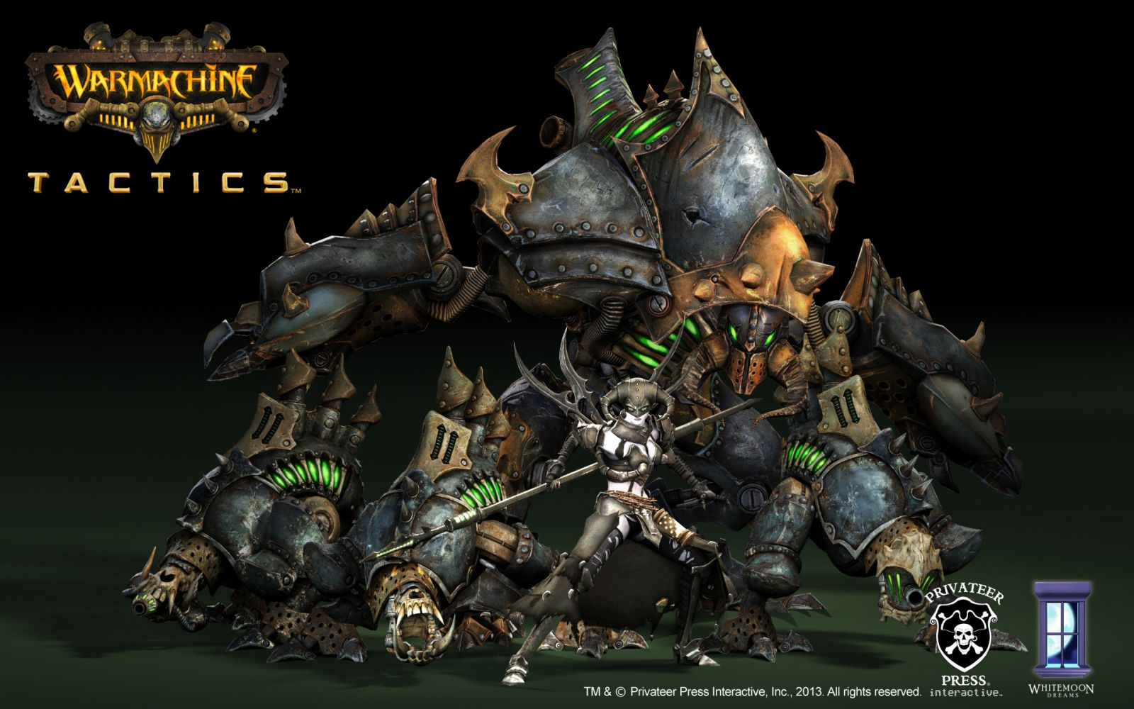 Демо-версия Warmachine: Tactics вышла в Steam