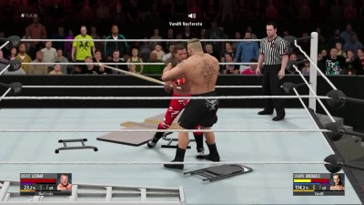 "WWE 2K16 ""ONLINE NO DQ Extreme Rules Match - Brock Lesnar VS Shawn Michaels"""