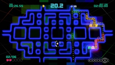 "Pac-Man Championship Edition 2 ""Геймплей Giant Ghost """