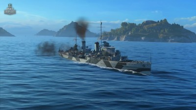 "World of Warships ""Крейсер Perth. Армада"""