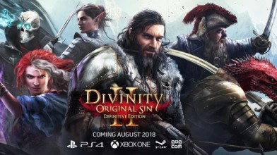 В августе выйдет Divinity: Original Sin 2 Definitive Edition