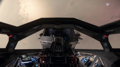 В Star Citizen пилот поймал друга, падающего с небес